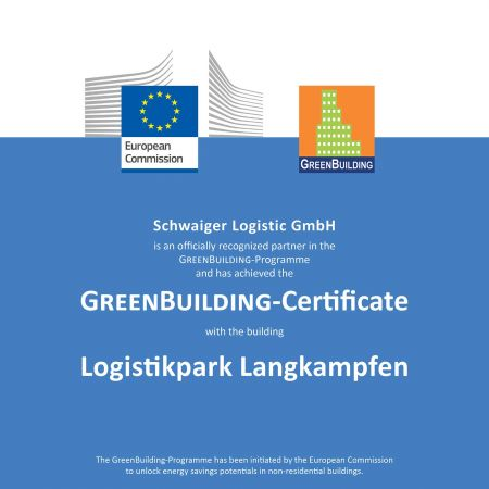 Green Building Zertifikat